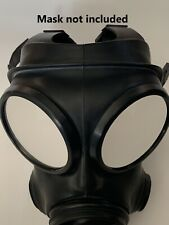 More details for s10 gas mask rubber fetish 2 way mirror lenses outserts