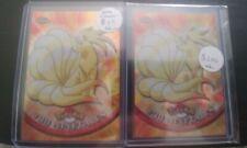 Ninetails #38 Tekno and Spectra Refractor Topps Chrome Pokemon Card Lot $$$