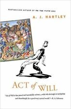Act Of Will by A. J. Hartley HC new