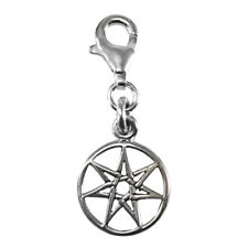 Septagram Fairy Faerie Star Clip Charm | Faerie Fae Magic Pagan Wiccan Pentagram