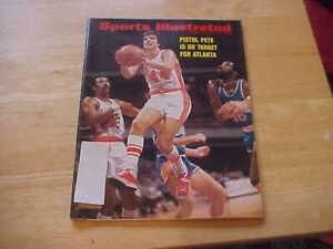 Pistol Pete Is On Target For Atlanta  Nov. 12, 1973 Sports Illustrated