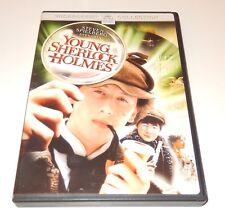 Young Sherlock Holmes  Nicholas Rowe Alan Cox Anthony Higgins  (DVD, 1985) WS
