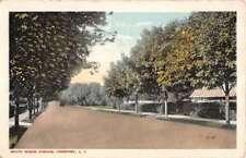 Freeport New York South Ocean Avenue Street View Antique Postcard K81759
