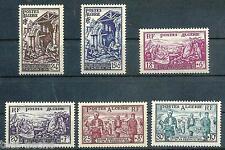 ALGERIA / ALGERIE 1954 classic Semi-Postal set MNH/MLH  VF $25