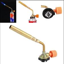 Camping Welding BBQ Tool Flamethrower Burner Butane Gas Blow Torch Hand Ignition