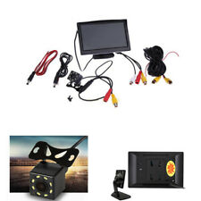 120° TFT LCD Car Rearview Monitor With 8 LED Night Vision Backup Parking Camera