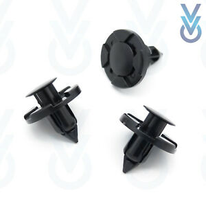 10x VVO® Windscreen Cowl / Scuttle Panel Clips for some Nissan Vehicles