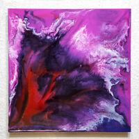 ORIGINAL Abstrakte Malerei Resin Kunst Bild Acryl Gemälde Modern Art HANDGEMALT