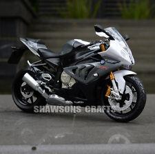 1:12 DIECAST MODELS BMW S1000RR MOTORCYCLE SPORT BIKE REPLICA