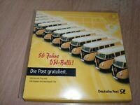 Brekina - 50 Jahre VW-Bulli , Die Post gratuliert - Set - OVP