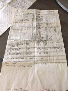 "1981 Dukes Of Hazzard Call Sheet ""GOOD BYE GENERAL LEE"" RARE Daisy Duke"