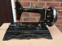 Rare Saxonia Antique Sewing Machine