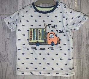 Boys Age 9-12 Months - George T Shirt