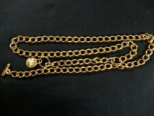 New Gold Chain Link ladies Belt  41 in