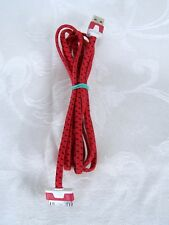 USB Cloth Wrapped iPhone iPod Charger Red