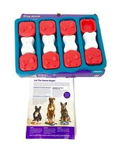 Dog Brick Puzzle Skill Lvl 2 Intermediate Outward Hound Dog Toy Treat Game Pet *