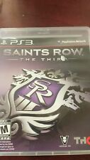 Saints Row The Third For Sony PlayStation 3.
