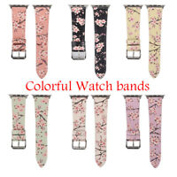 Replacement Leather Strap iWatch Band Apple Watch Band Series SE 6 5 4 3 2 40 44