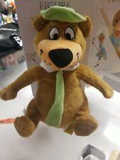 "Yogi Bear Plush 9"" Brown Stuffed Animal Hanna Barbera"