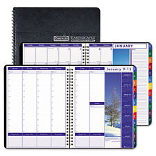 House of Doolittle Earthscapes Weekly/monthly Planner, 8.5 X 11, Black