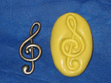 Music Note Silicone Mold 163 For Cake Soap Chocolate Resin Candy Fondant Deco