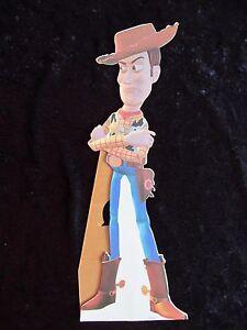 Disney's TOY STORY  original British mini counter card SHERIFF WOODY
