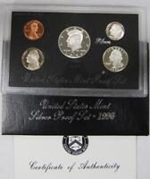 1996 US Mint Silver Proof Set, Gem Coins w/ Box