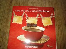 """livre """"les pates ... ca m'eclate"""" tupperware"""