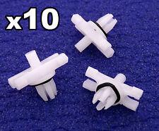 10 AutoClips/Remaches Plastico E46 BMW- Canaletas de LLuvia, Techos -51138204858