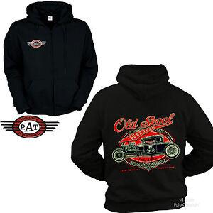 * Jacke Zip Vintage Hot Rod Shop Garage Speed Kustom Sweatshirt Hoodie *1277