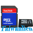 OEM 16GB 16G Class 10 Micro SD Micro SDHC TF Flash Memory Card + SanDisk Adapter