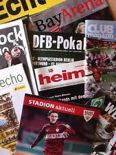 Bayern München AWAY Programme 96/97 - bis Rückrunde 17/18  !!!!  *TOP Auswahl*