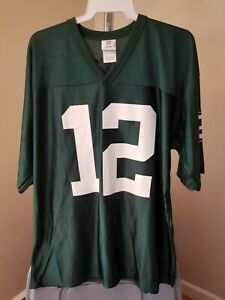 Green Bay Packers NFL Classic Green Aaron Rodgers #12 Large Jersey