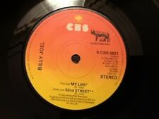 BILLY JOEL . MY LIFE . 52nd STREET . MINT 1970's Classic