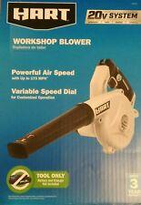 BRAND NEW HART Blower 20V battery  powerfull 173 MPH Cordless Workshop TOOL ONLY