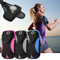 For iPhone Xs Xr 6 7 8 Plus Samsung S8 S9 S10+ Sports Running Armband Phone Case