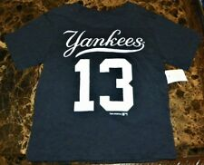 "NEW"" New York Yankees ~ #13 ALEX RODRIGUEZ 2-SIDED Jersey SHIRT ~ MLB Boy's 3T 3"