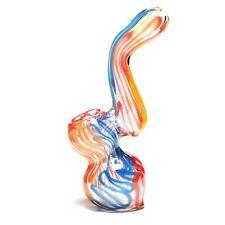Premium 4.5 inch Bubbler Water Pipe Hookah Glass Triple Blown Free Shipping