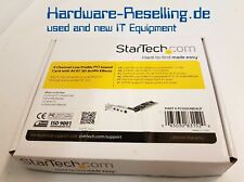 StarTech PM28738-2X2A 4-Channel Low Profile PCI Sound Card AC97 Audio Effects