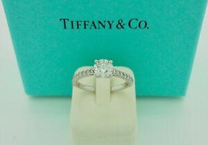 Authentic Tiffany & Co. Novo 0.46ct H VS1 Diamond Engagement Ring $8,300