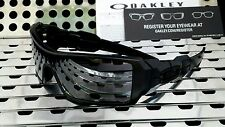 New Oakley 03-464 OIL RIG Sunglasses Matte Black w/Black Iridium Lenses