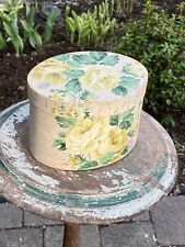 Vintage Wallpaper Covered Box