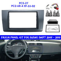 1 or 2 Din Radio Stereo Fascia Panel Adaptor Fitting Kit For Suzuki Swift