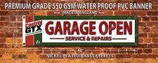 CASTROL GTX Garage APERTO IMPERMEABILE grado 550GSM pvc banner. Workshop Garage,