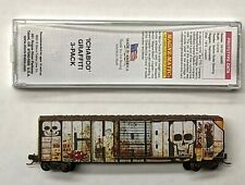 "MTL Micro-Trains 25010 Railbox RBOX 34847 ""Ichabod"" FW Factory Weathered"