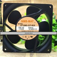 NMB-MAT 4715MS-23T-B20 Cooling Fan AC 230V 15/14W 120mm x 120mm x 38mm WIRE
