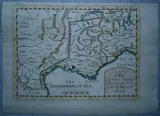ca.1745 map Route of Hannibal through Gaul and the Alps into Italy