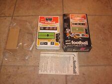 GALOOB MVP NFL HAND HELD FOOTBALL GAME COMPLETE WITH BOX CLEAN UNUSED?