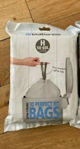 Brabantia Bin Liners, Size H, 50-60 L  pack x  30 Bags
