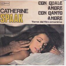"""Catherine Spaak Vinile 45 giri 7"""" Con Quale Amore Con Quanto Amore Nuovo"""